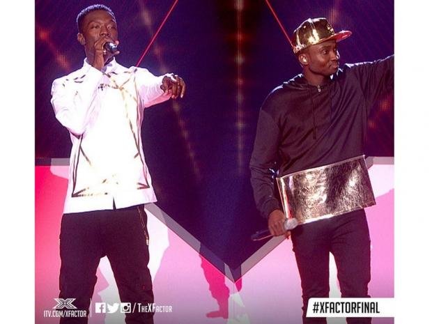 Reggie N Bollie on The X Factor