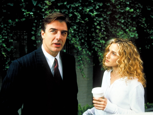 Sarah Jessica Parker and Chris Noth in Sex And The City.