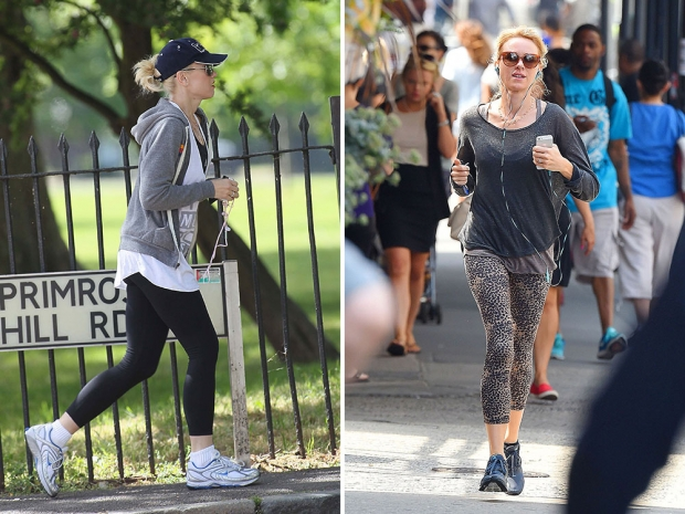 Gwen Stefani and Naomi Watts