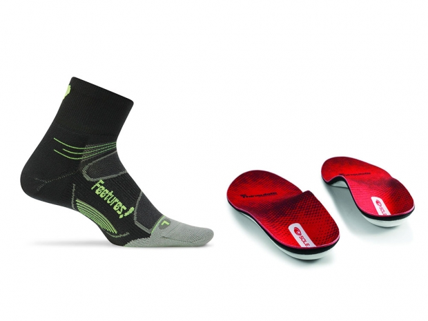 Winter Running Feet