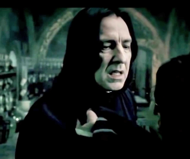 Alan famously played Snape in the Harry Potter movies
