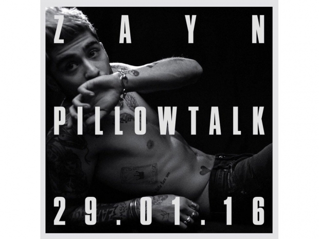 Zayn Malik's Pillowtalk cover