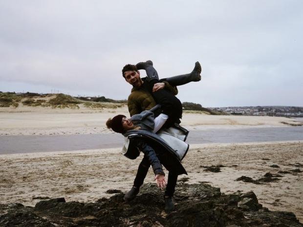 Zoella and Alfie Deyes