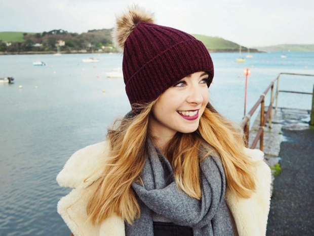 Zoella in Cornwall