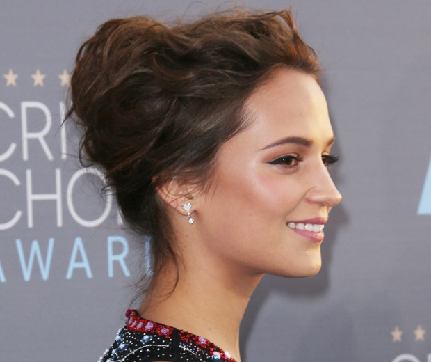 The Secret You Never Knew About Alicia Vikanders Hair Look
