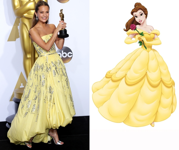 alicia vikander belle beauty and the beast