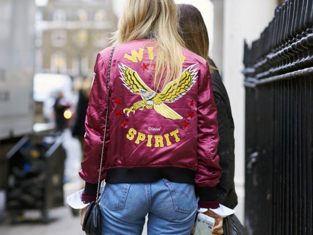 Personalised bomber jackets