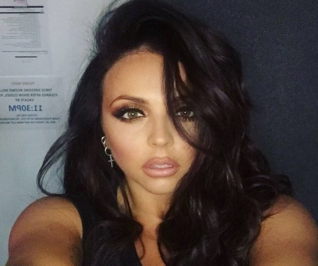 Jesy Nelson shares a sexy selfie before the BRITs...