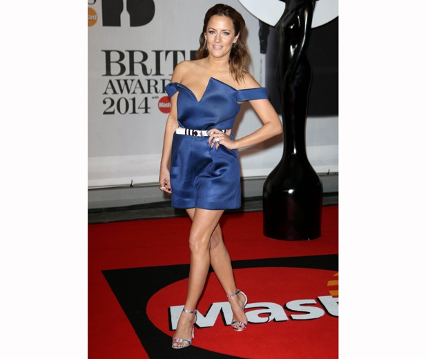 caroline flack brit awards 2014