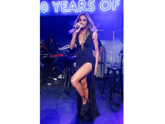 Ciara gave an exclusive performance at Keds 100th birthday party