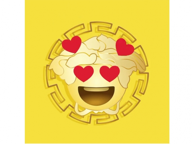 Versace launches emojis