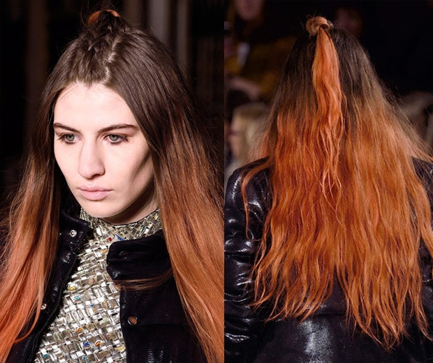 The Unicorn Braid Rules At London Fashion Week Look