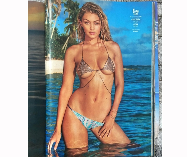gigi hadid sports illustrated swimsuit issue