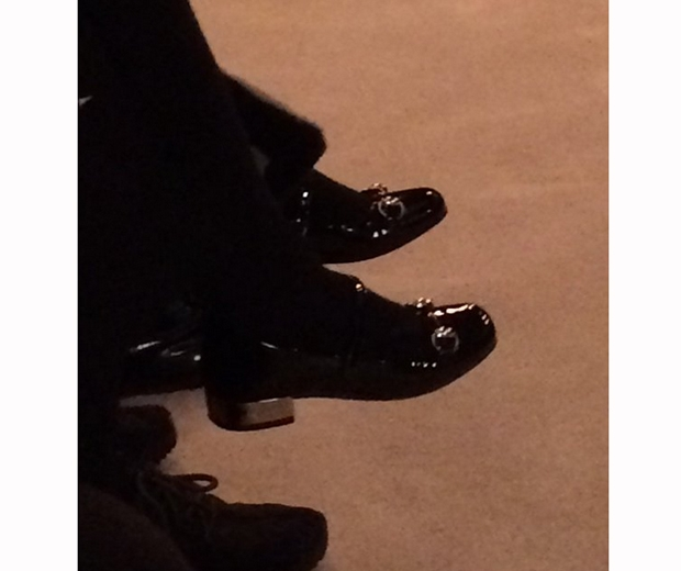 harper beckham giccu loafers