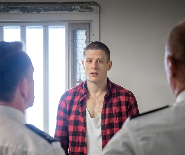 James Norton as Tommy Lee Royce in Happy Valley