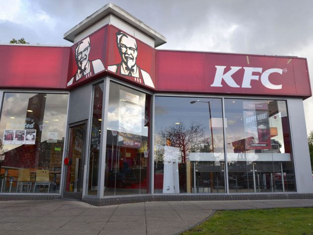 KFC are trialling a new date-night table service
