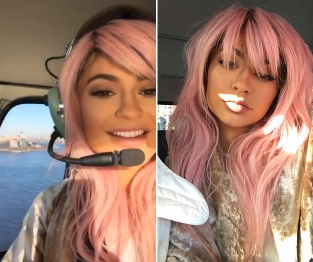 Kylie Jenner Just Broke One Of Her Hair Rules Look
