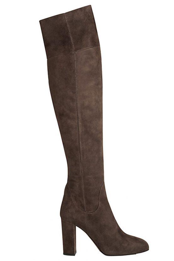 l k suede high leg boots 163 425 look magazine