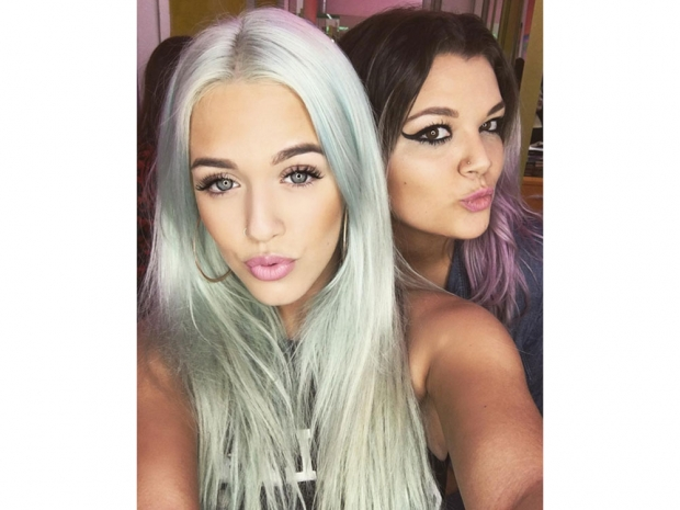 Lottie Tomlinson mermaid hair