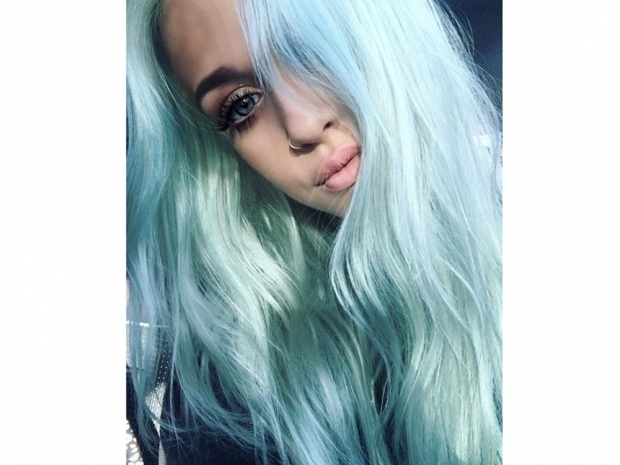 Lottie Tomlinson mermaid hairWi