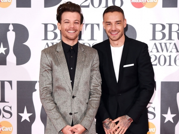 Louis and Liam were the only One Direction members to turn up to the BRITs