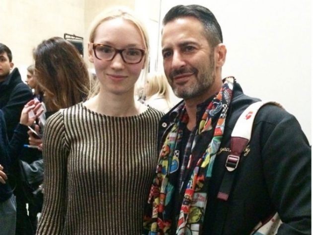 Amy Victoria Robinson was Marc Jacobs' former designer assistant