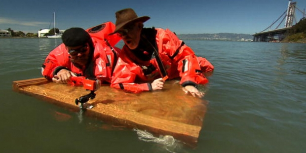 Mythbusters take on the Titanic door