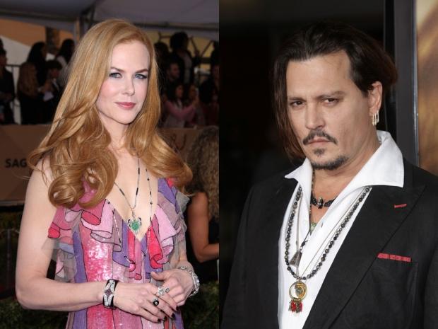 Nicole Kidman Johnny Depp Mr and Mrs Smith
