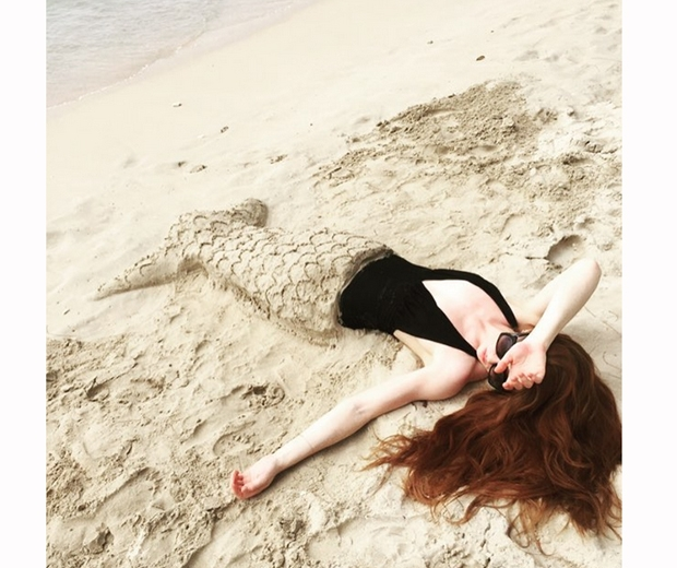 nicola roberts in barbados