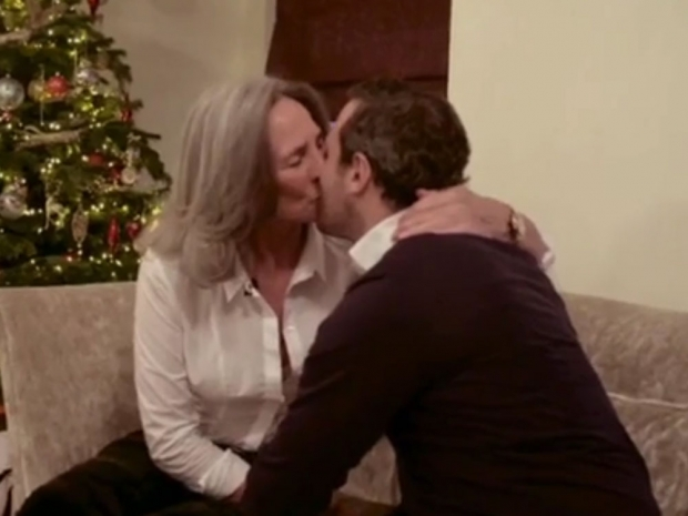 Paul Knightley and his mum
