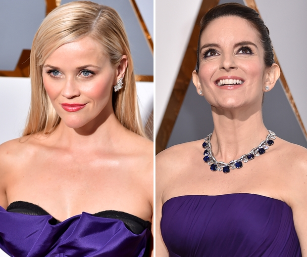 reese witherspoon and tina fey oscars 2016
