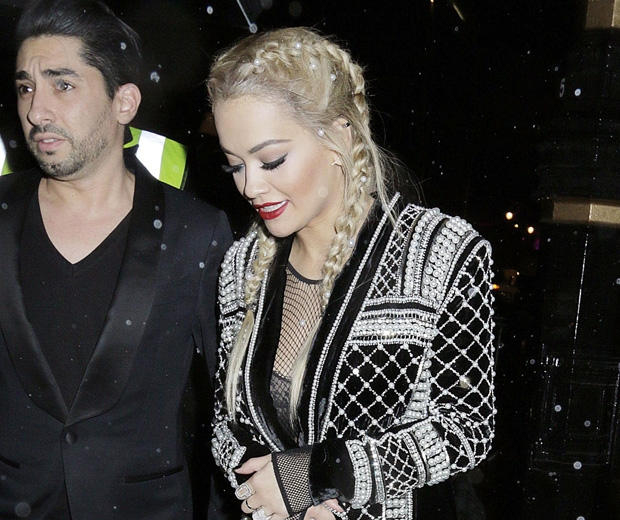 Rita Ora rocks boxer braids with added pearls - love!