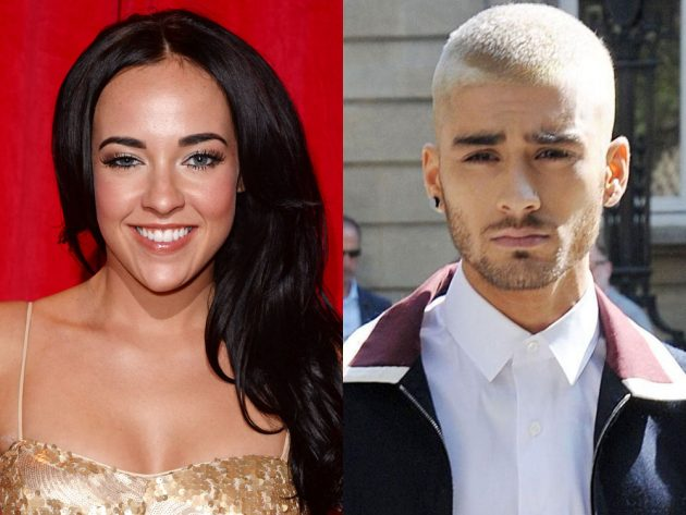 Stephanie Davis dated Zayn Malik in the early days of One Direction