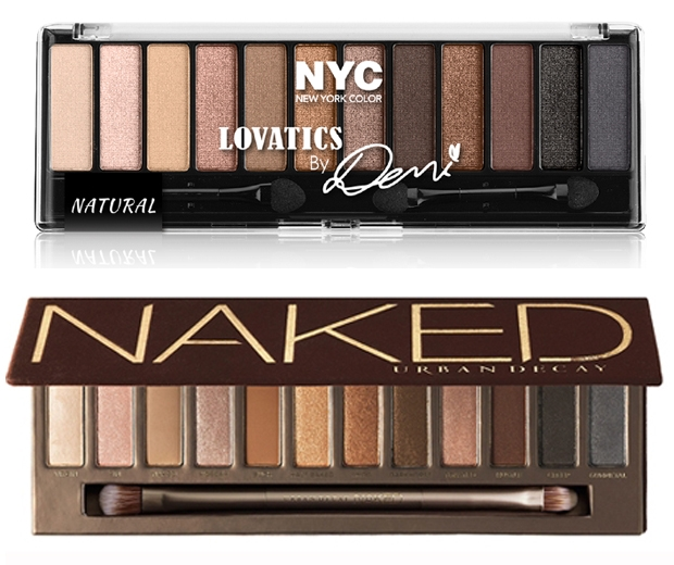 nyc lovatics by demi lovato eyeshadow palette urban decay naked palette