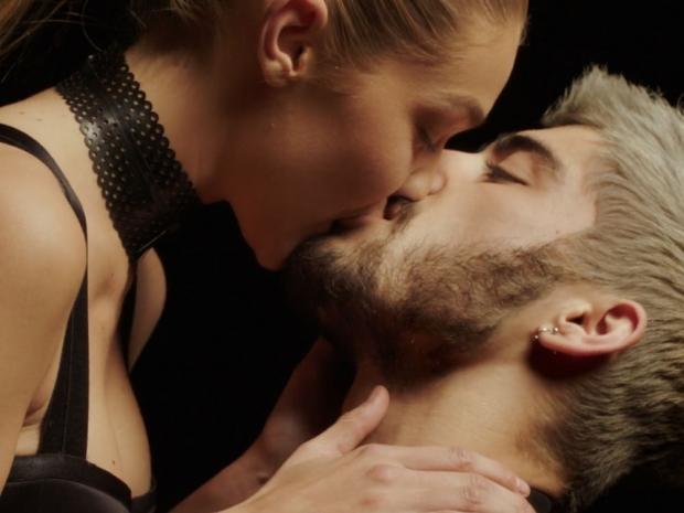 Zayn Malik and Gigi Hadid in the Pillowtalk video