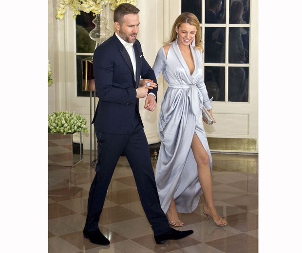 Blake Lively and Ryan Reynolds white house state dinner