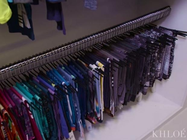 Khloe fitness wardrobe
