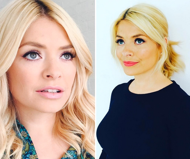holly willoughby hair and makeup