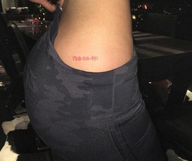 kylie jenner tattoo