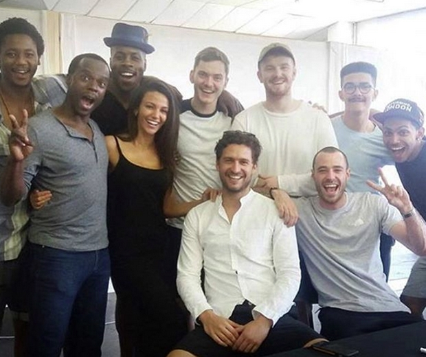 michelle keegan filming our girl