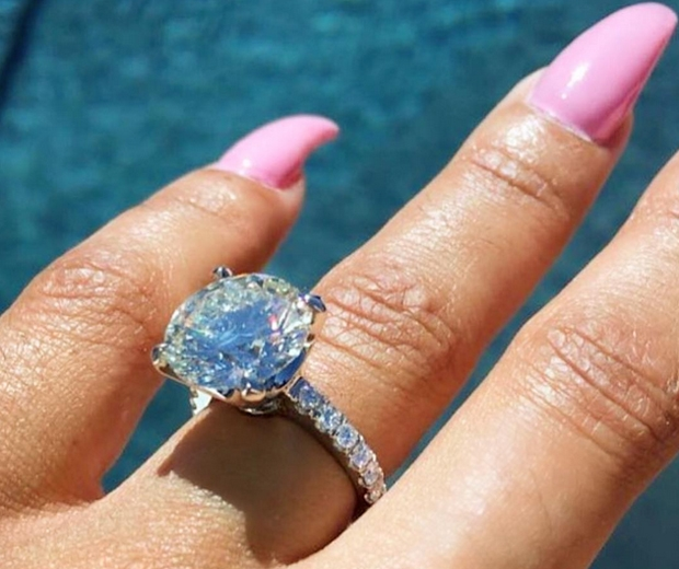 rob kardashian blac chyna ring