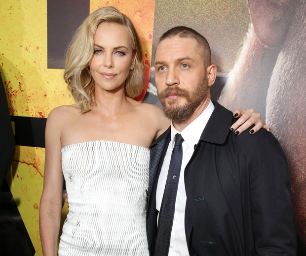 charlize theron and tom hardy
