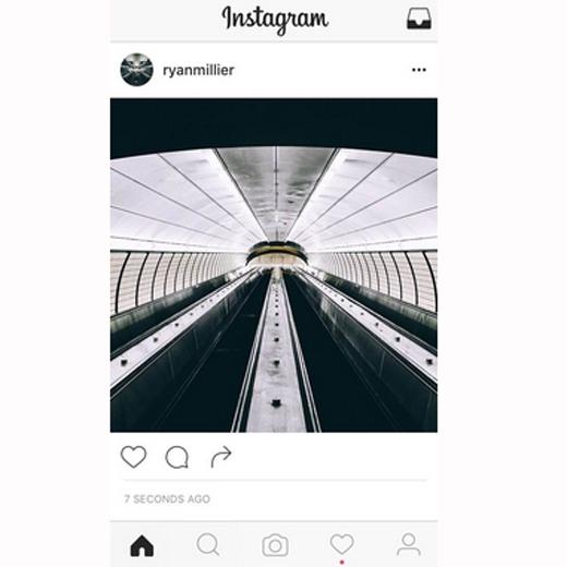 instagram black and white design