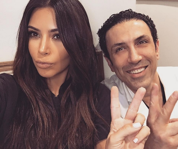 Kim and Dr. Ourian