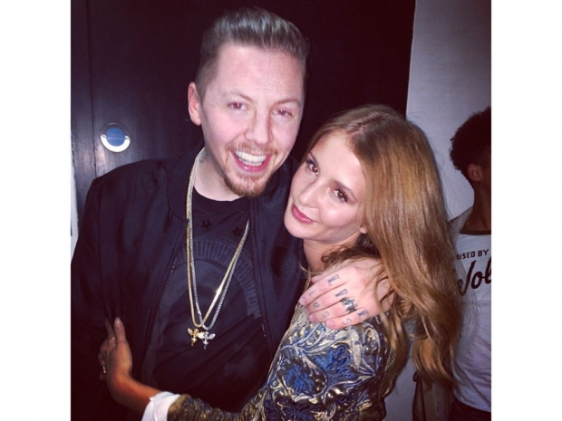 Millie Mackintosh and Professor Green in happier times