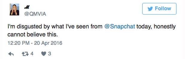 bob marley snapchat filter wrong twitter