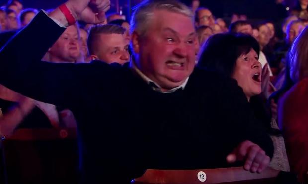 Wayne Woodward dad Britain's Got Talent