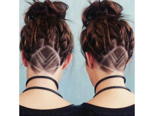 Why Everyone S Obsessed With Hidden Hair Tattoos Look