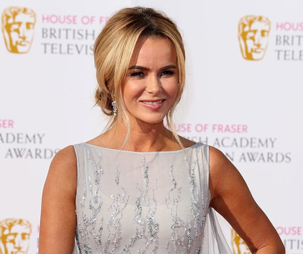 Amanda Holden Makeup Beauty TV Baftas 2016 matte