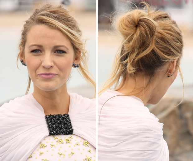 Heres the hair tool blake lively couldnt live without look blake lively updo pmusecretfo Gallery